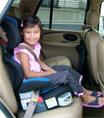 Buckle The Booster Seat In Even When Child Is Not It A Loose Can Injure Others Crash